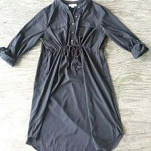 Motherhood Maternity Button-Down Shirt Dress